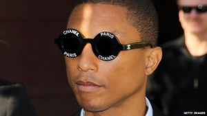 """BBC News story on Pharrell Williams plagiarizing """"Blurred Lines"""" song. http://www.bbc.com/news/entertainment-arts-31746199"""